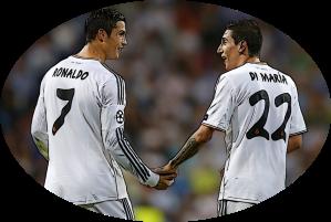 Di Maria and Ronaldo