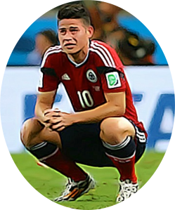 James Rodríguez crying pic for blog