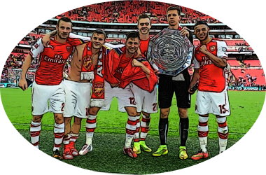 Arsenal Community Shield pic