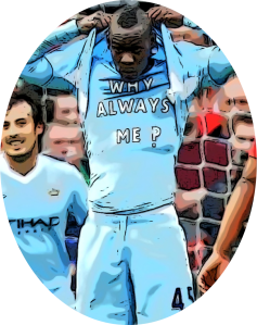 Balotelli Man City Pic