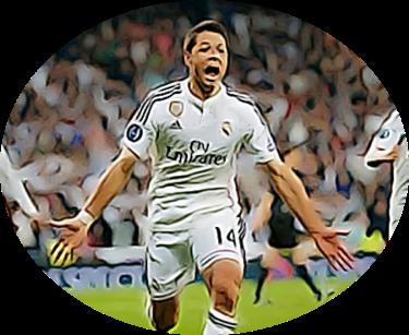 Chicharito Champions League goal