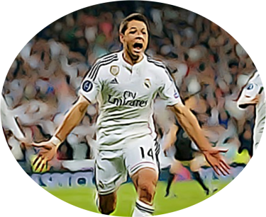 Chicharito Champions League goal