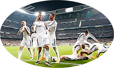 Real Madrid Celebrating